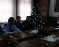 Прогласени најдобар полицаец и пожарникар во Општина Куманово за 2016 година( фото)