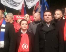 Зоран Заев се поклони пред граѓаните на Куманово и испрати порака  на Груевски ако не излезе на дуел дека е кукавица