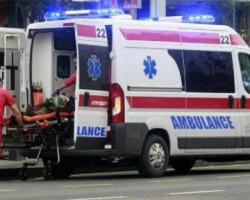 Тешка сообраќајка кај Војник, се судриле камион и автомобил