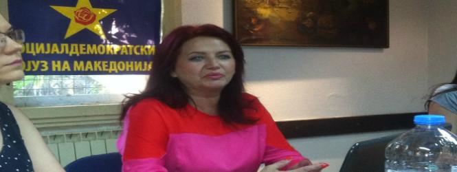 Атина Мургашанска носител на листата на СДСМ во Куманово