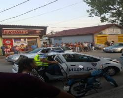 Кривична пријава за насилниците кои се закануваа на полиција-фото-