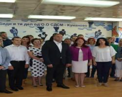 Димитриевски: Со нов концепт за подобар живот со советниците ќе влеземе во секој дом