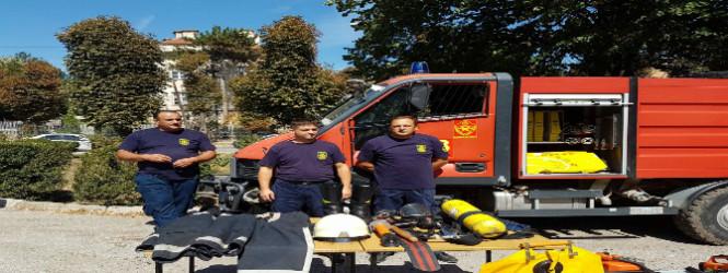 Показна вежба во пожарна Куманово по повод 8ми Септември-фото-