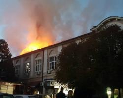 Од оџак се запали зградата на стара општина во Касапски круг