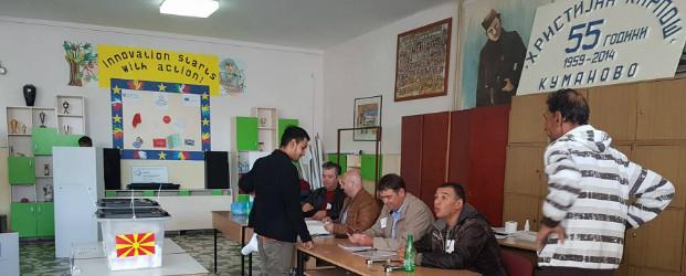 До 13 часот во Куманово гласале 23,07 отсто од гласачите