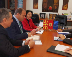 Прва посета на Евроамбасадорот во Македонија по локалните избори во Куманово