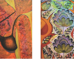 """Вечерва отварање на изложба """" Моменти """" со 25 дела на слики на  академскиот уметник Слободан Тимчевски"""