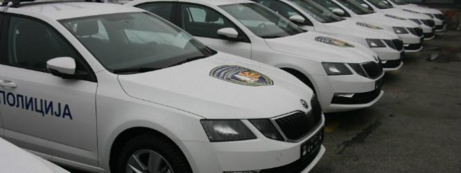 СВР Куманово доби нови возила од МВР