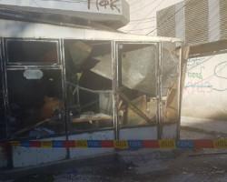 Едно лице повредено откако се сруши фасада од зграда на плоштад во Куманово-фото