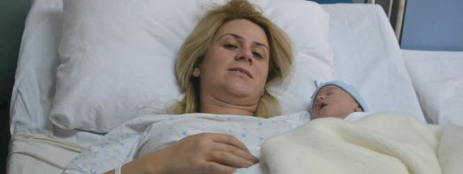 Првото бебе во Новата 2018 година во Куманово е машко