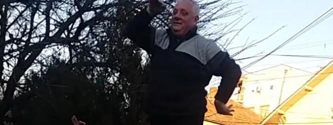 Екс градоначалник на Старо Нагоричане ги покажа своите играорни способности -фото-