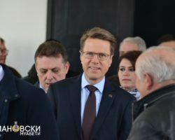 Евроамбасадорот Жбогар стана почесен граѓанин на Куманово