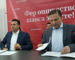 Заев и Спасовски во Куманово, Фер општество, шанса за сите
