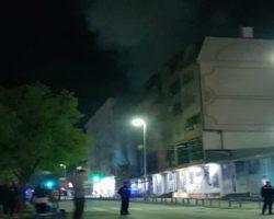 Куќа изгоре во центарот на Куманово