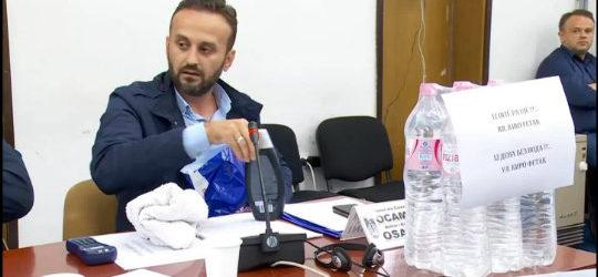 Осама Муадини од Советот на општина Куманово побара бања со вода да се искапе