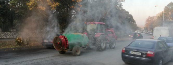 Општината започна со аероаолизација како мерка за намалување на загаденоста на воздухот