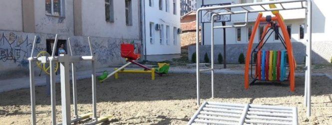 """Инклузивно игралиште за учениците во  О.У. """"Браќа Миладиновци"""""""