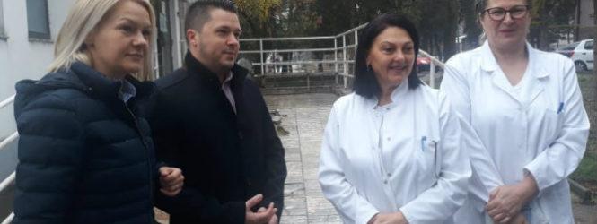 """Аптеки """"Каисер"""" со донација за инфективното одделение од кумановската општа болница"""