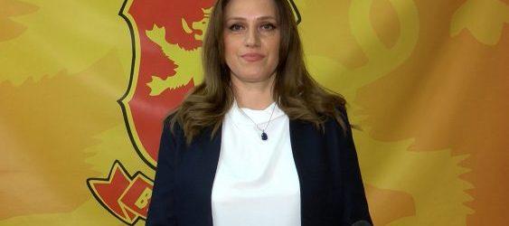 Димковска: Програмата на ВМРО-ДПМНЕ гарантира квалитетно образование