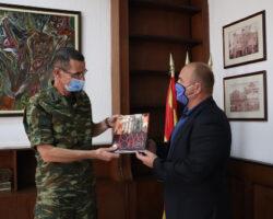 Командантот на СИБРИГ, Аристедеис Илиопулос во работна посета на општина Куманово