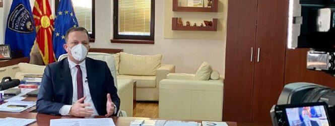 Спасовски: Со пожртвуваноста на медицинските работници од денеска се вратив на работа во МВР