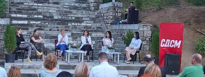 На локалните избори на советнички листи ќе настапиме со 50 проценти на жени, а борбата ќе ја продолжиме,порачаа од форум на жени на СДСМ