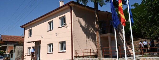 Реконструирана Полициската канцеларија во Старо Нагоричане, од канцеларија ќе се преименува во одделение најави министерот Спасовски