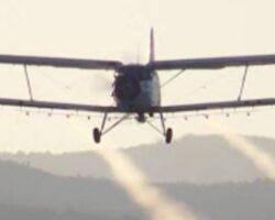 Во понеделник авионско прскање против комарци во Куманово