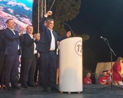 Кандидатот на СДСМ за градоначалник на општина Куманово вечерва на конвенција ја побара поддршката од кумановци
